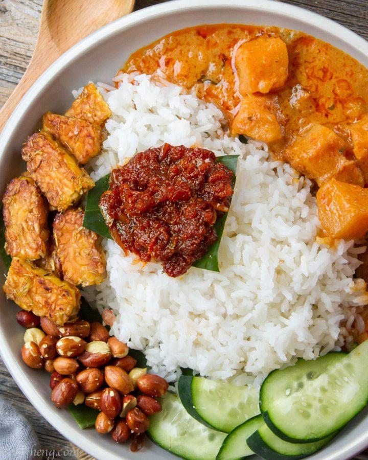 Vegan-nasi-lemak