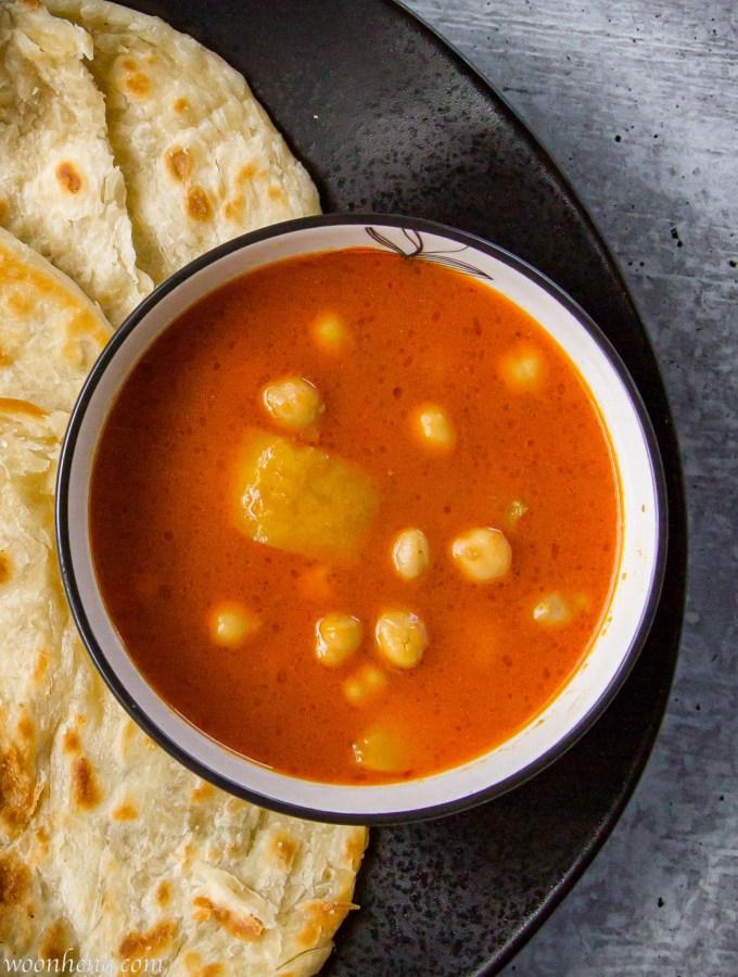 Chickpeas-Potato-Curry