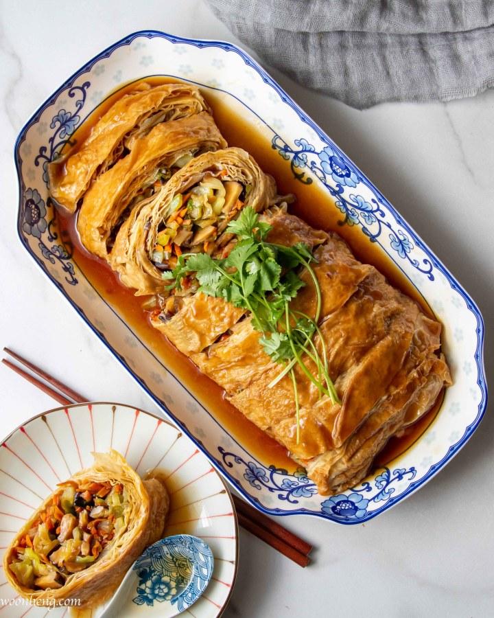 tofu-skin-roll