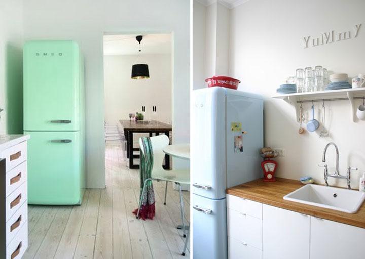 Keuken Industriele Smeg : Smeg koelkast mat zwart beste interieur ontwerp interieur ontwerp