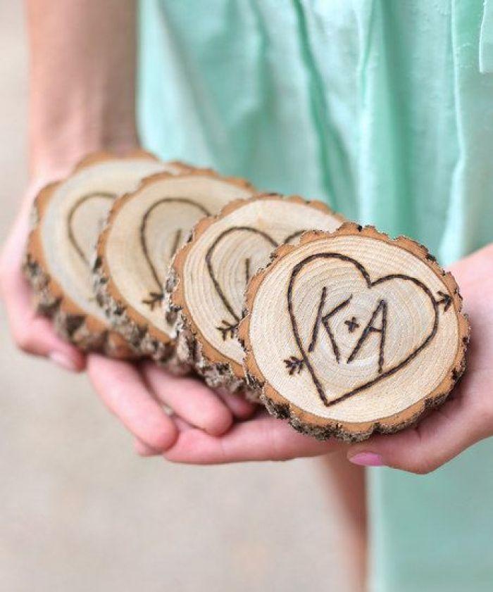 houten onderzetter maken