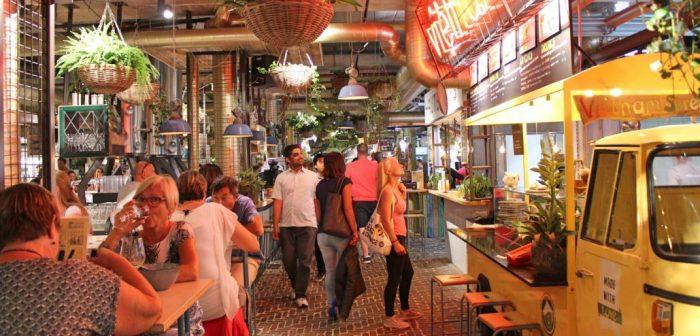 gourmet market in Eindhoven