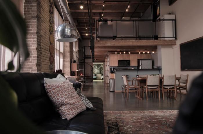 betonnen vloer loft