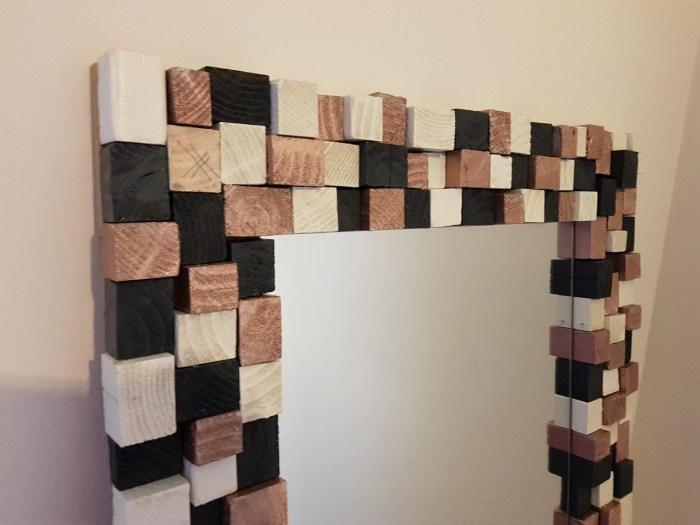spiegel van blokjes