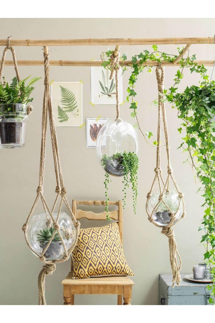 ronde plantenhangers