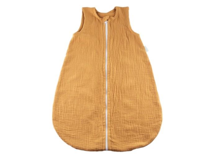 sac de dormit muselina galbena
