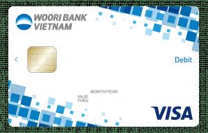 The Woori Visa debit