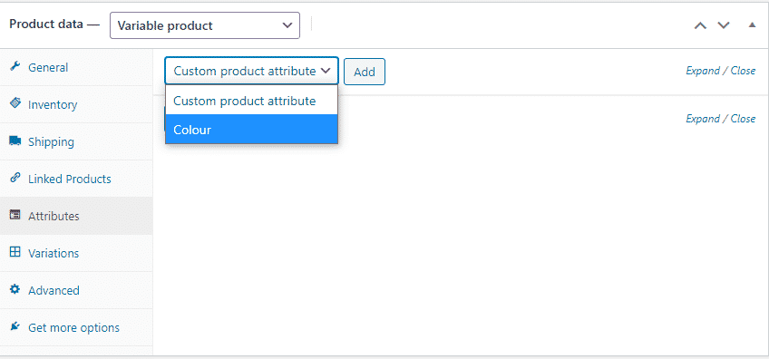 Variable Products add products to your woocommerce store