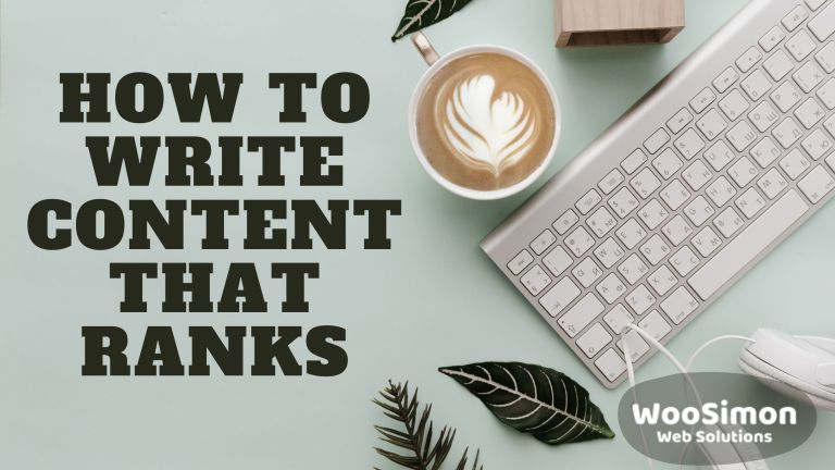 How to write website content that ranks in Google