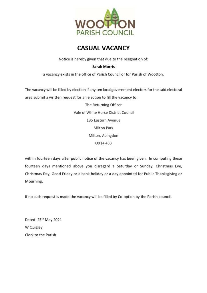 2021 05 Notice of Vacancy page 0001