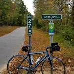 Wake / Johnston County line