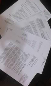 Los diversos documentos dirigidos a Llenque Díaz