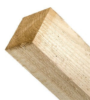 """Timber Post Pressure Treated 3"""" x 3"""""""