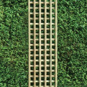 1830mm x 450mm Square Lattice