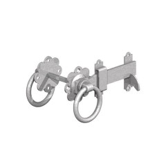 "GATEMATE® Ring Gate Latch, 6""/ 150mm, Galvanised"