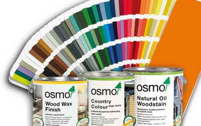 Trust the specialist: Osmo wood coating systems