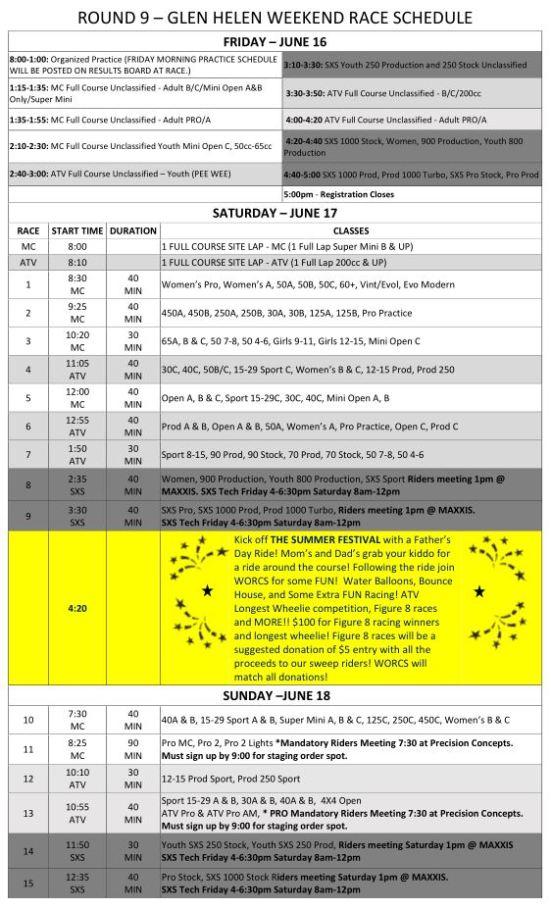 2017-Round-9c-Weekend-Race-Schedule