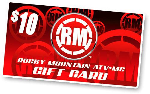 Rocky Mountain ATV/MC $10 Gift Card
