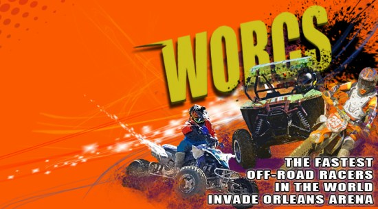 The fastest off-road racers in the world invade the Orleans Arena