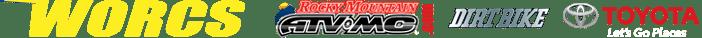 WORCS Yellow Letters Logo RMATVMC Dirt Bike Toyota
