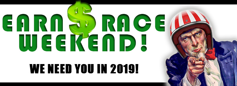 2019 Race Weekend Help