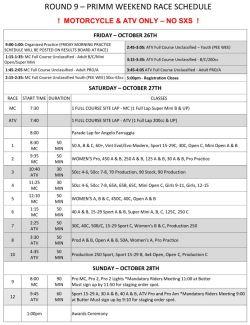 2018 Weekend Schedule Round 9 Primm MC and ATV w Parade Lap.pdf