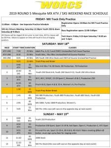 Round 5 2019 Glen Helen ATV SXS Race Weekend