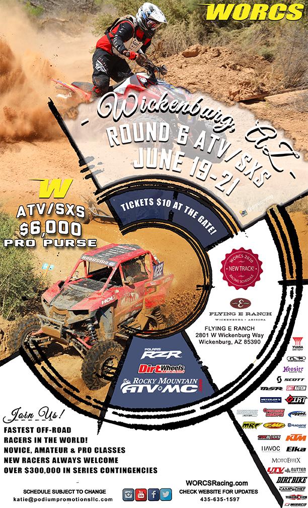 2020 Round 6 ATV SXS Wickenburgh