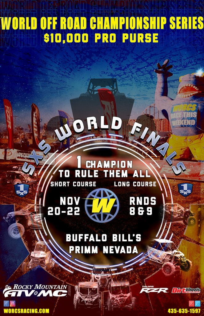2020 SXS World Finals Event Flyer