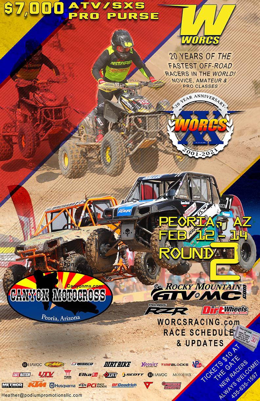2021 Round 2 ATV SXS Peoria Flyer