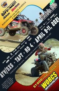 2021 Round 4 ATV SXS Taft, CA