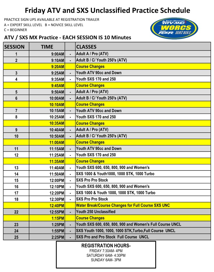 2021 Round 5 ATV SXS - CACHE VALLEY MX Web