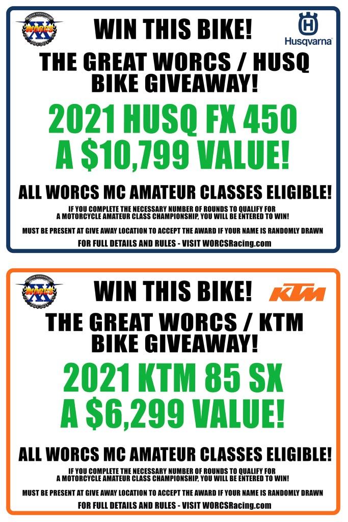 2021 HUSQ/KTM END OF YEAR BIKE GIVEAWAY