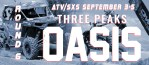 ROUND 6 ATV/SXS SEPTEMBER 3-5 THREE PEAKS OASIS