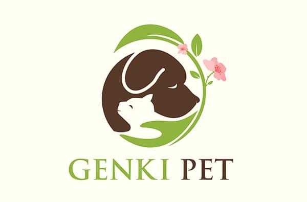 Word Wizardry: Genki Pet Logo