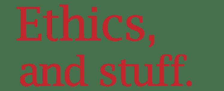 Word Wizardry: Ethics and stuff Logo