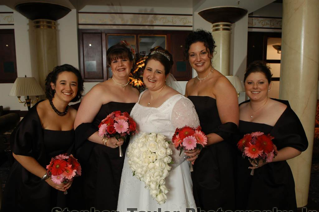 Robin and her wedding party