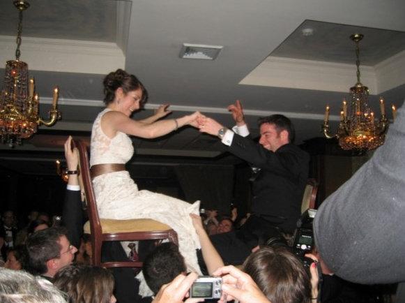 Alli & Ed at their wedding