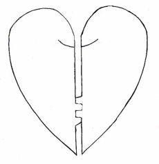 Nestling Hearts Created by Lorraine Rantala