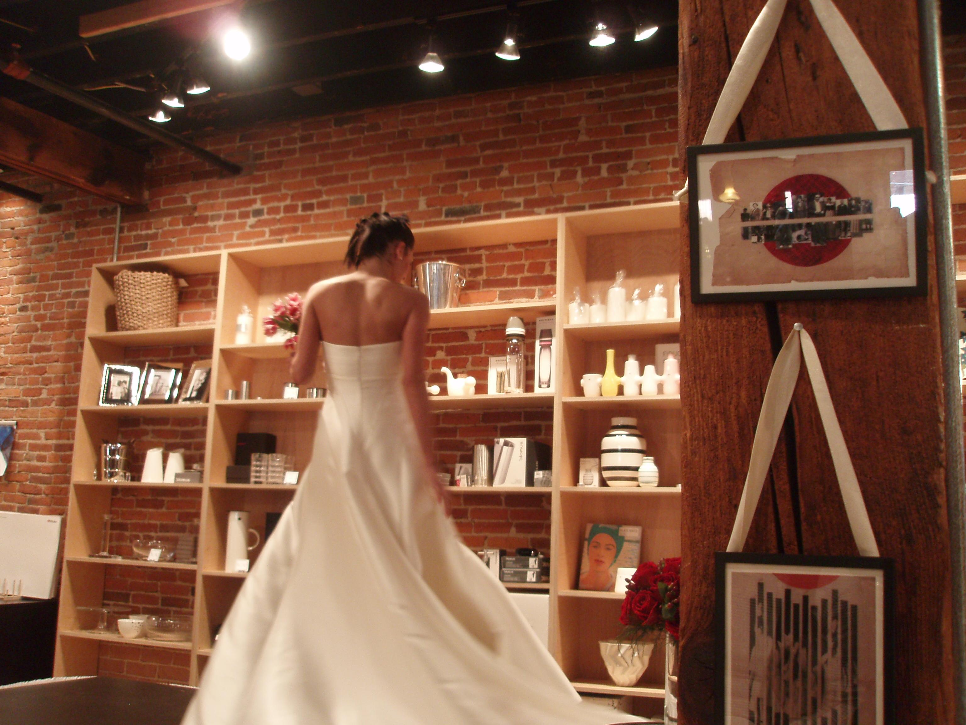 V2V white dress