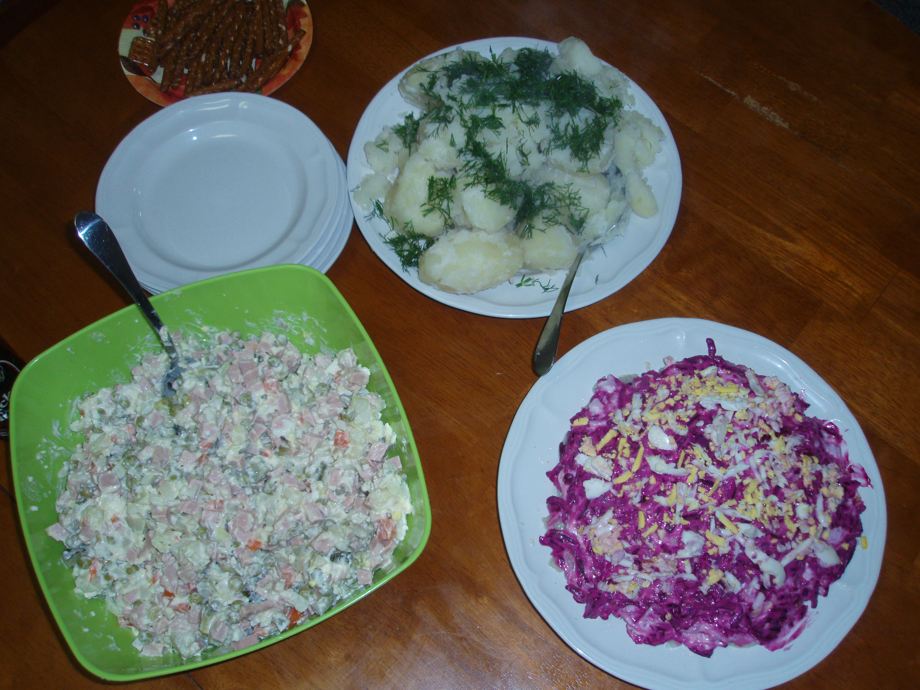 Russian dishes