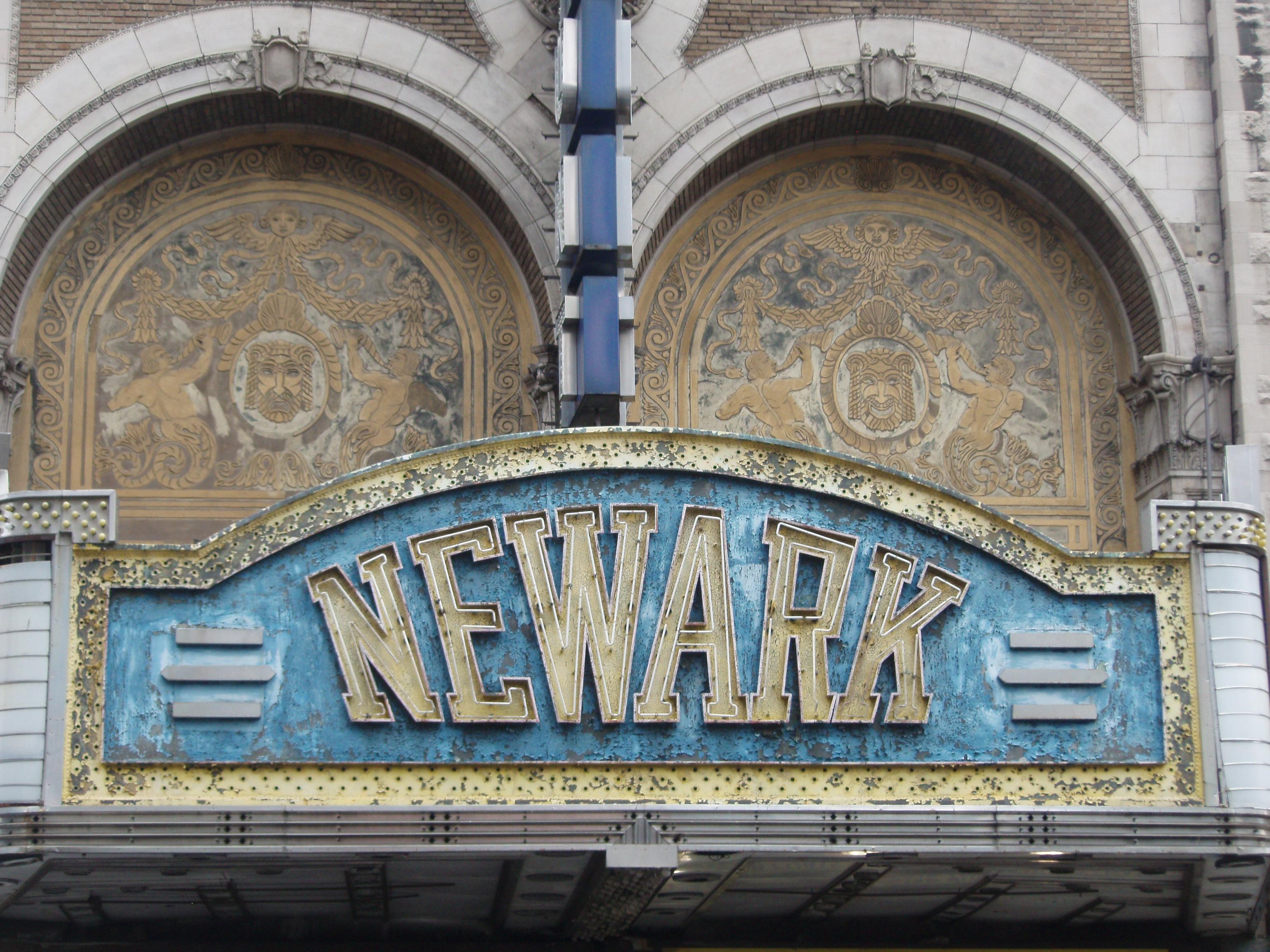 Paramount Theater in Newark, NJ
