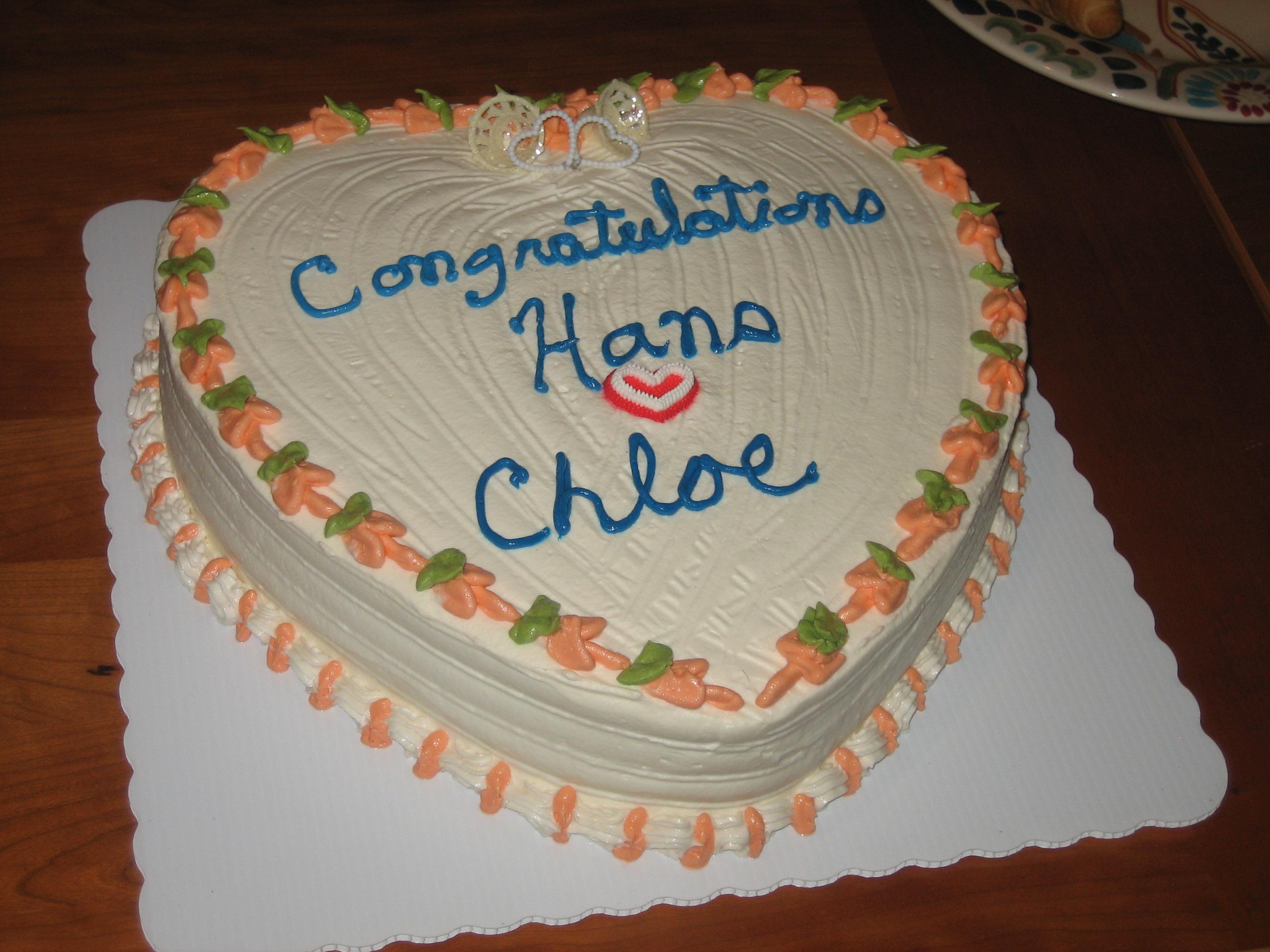 Theresa's cake