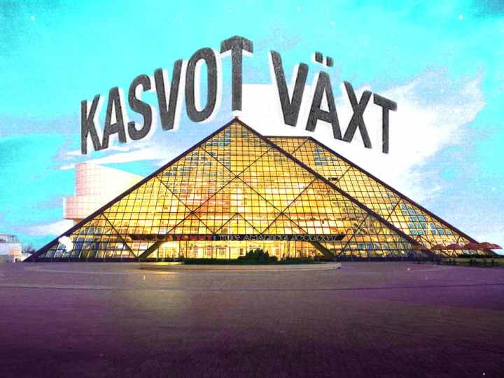 Kasvot Växt Inducted Into Rock And Roll Hall Of Fame