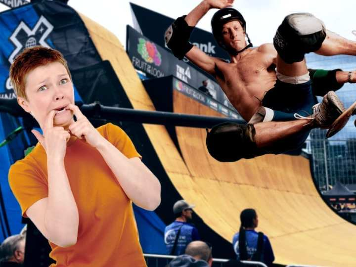 The Five Stages Of Tony Hawk Shattering Your Hymen By Skateboarding Into You At The X Games