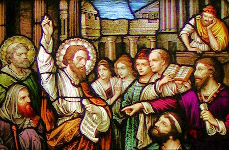 Pharisees didn't listen to the teachings of Jesus