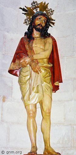 Jesus mocked as king