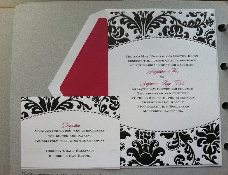 Custom Wedding Invitations In Nj