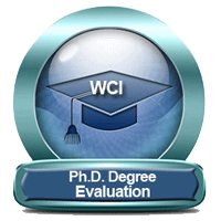 foreign academic credentials service For PhD Degree