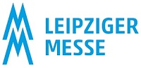 Blue Leipziger Messe logo